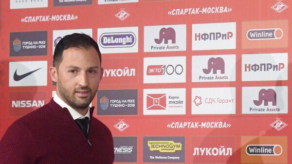 Главный тренер Спартака Доменико Тедеско