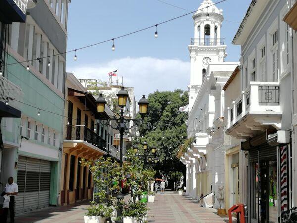 Санто-Доминго.  На бульваре Эль Конде