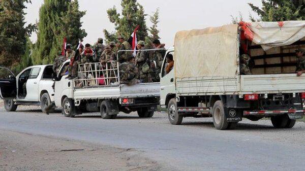 Сирийская армия встретилась с отступающими войсками США