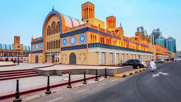 Центральный рынок Blue Souk в Шардже