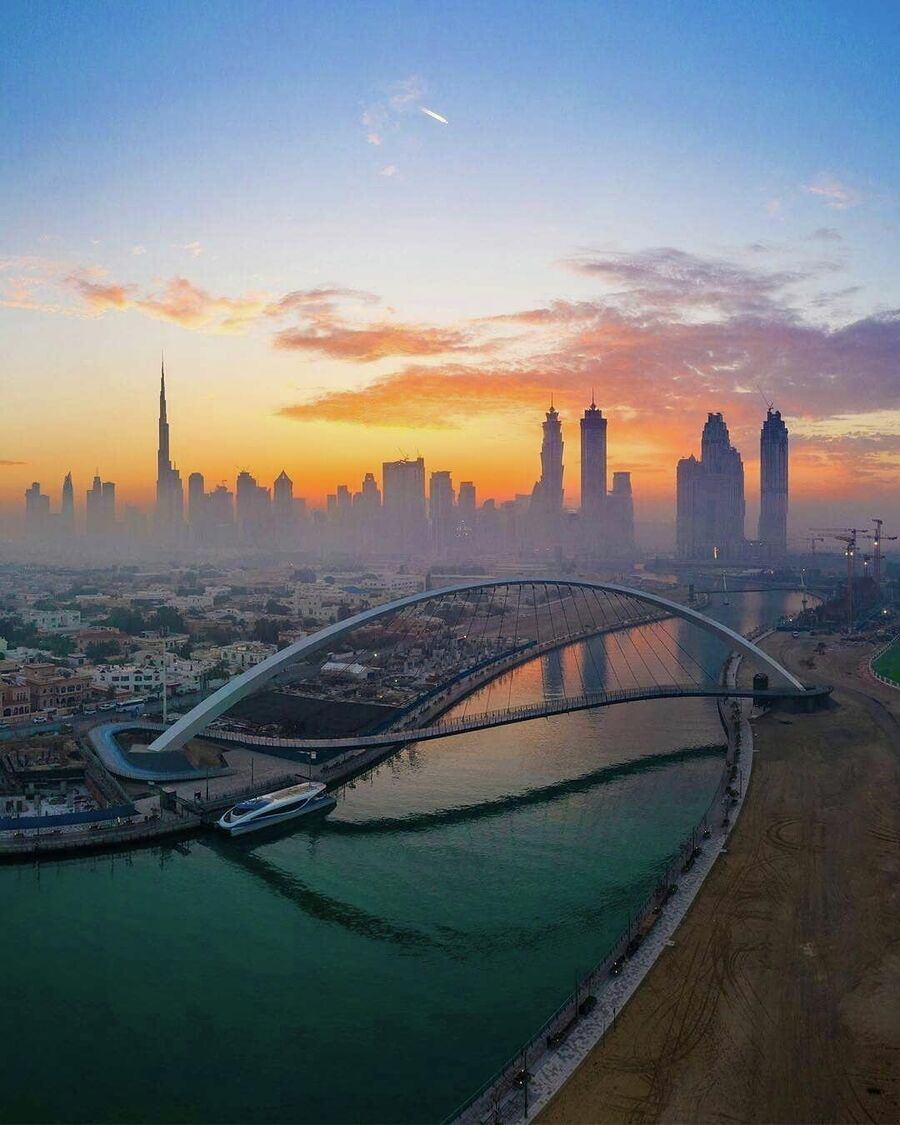 Мост толерантности в Дубае