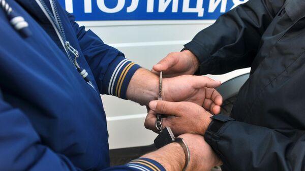 Задержание подозреваемого
