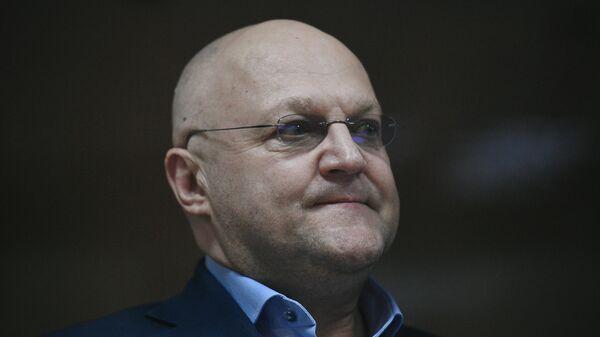 Александр Дрыманов во время заседания Московского городского суда