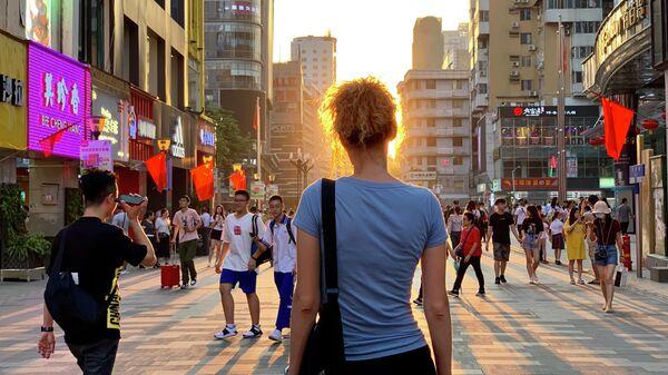 Закат на Пекинской улице
