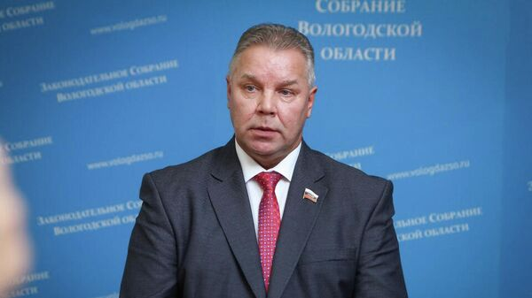 Депутат Единой России в вологодской области Павел Горчаков
