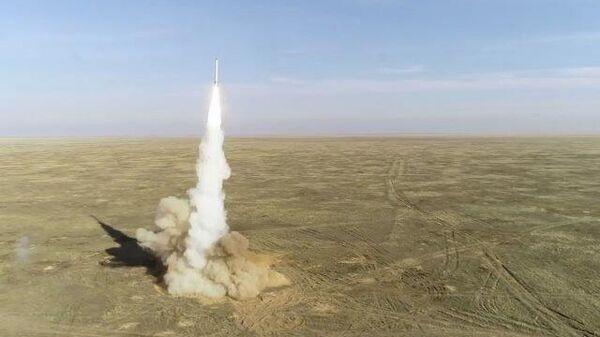Кадры пуска крылатых ракет ОТРК «Искандер» в рамках СКШУ «Гром-2019»