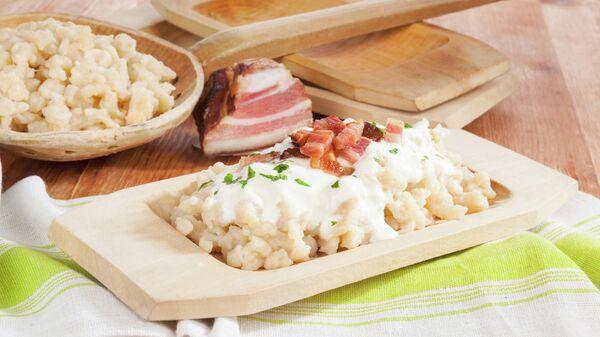 Традиционное блюдо в Словакии - брынзовые галушки
