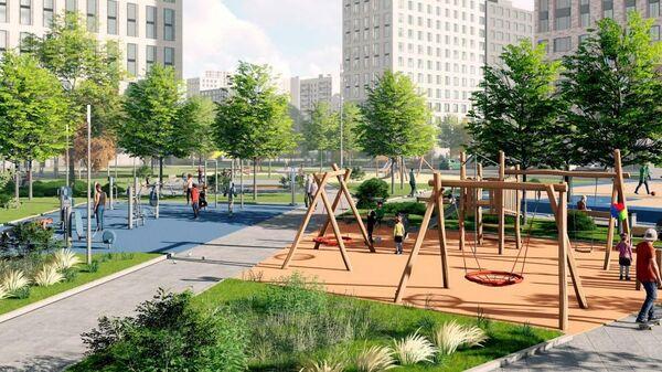 Проект планировки территорий программы реновации в Москве (Бескудниковский район)