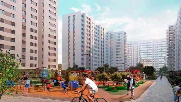 Проект планировки территорий программы реновации в Москве (район Фили-Давыдково)