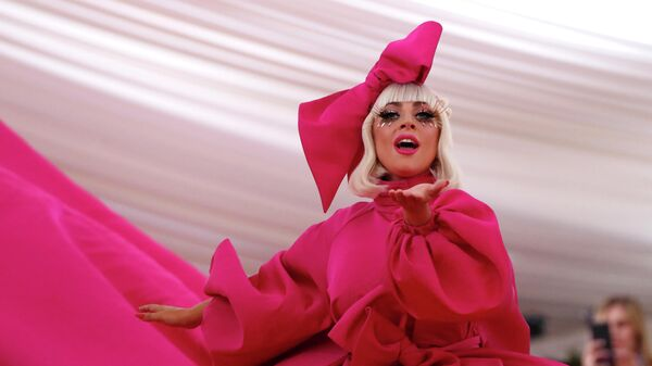 Американская певица Стефани Джоанн Анджелина Джерманотта (Леди Гага)