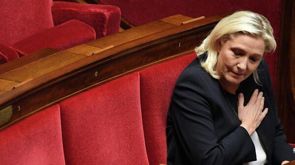 Депутат Национального собрания Франции от крайне-правой партии Марин Ле Пен