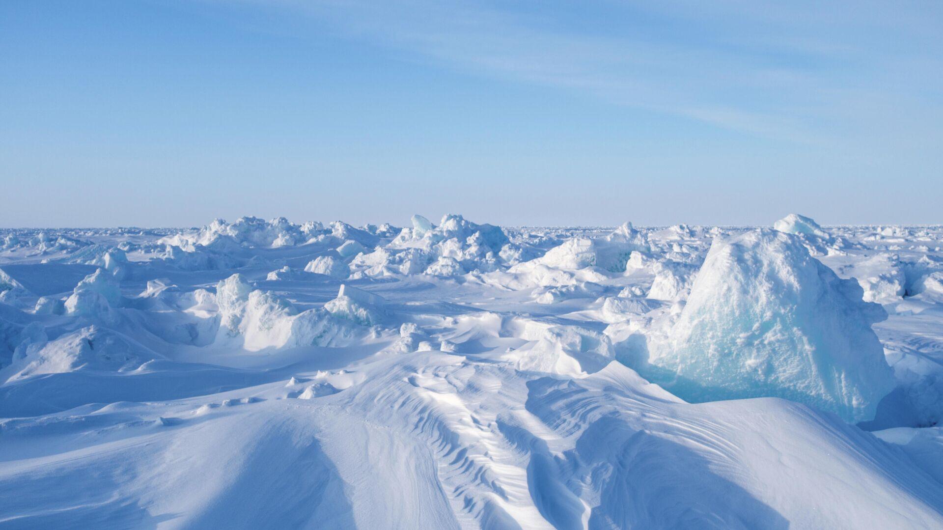 Дрейфующий ледовый лагерь Барнео в Арктике - РИА Новости, 1920, 24.10.2020