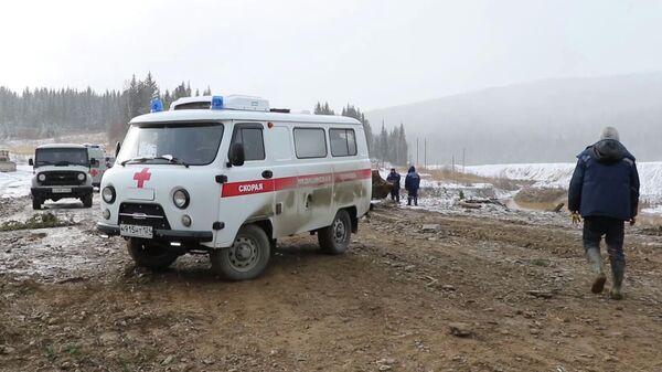 Прорыв дамбы в Красноярском крае