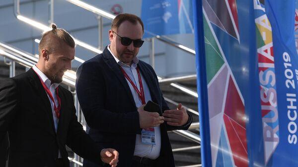 Участники экономического форума Россия - Африка в Сочи