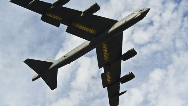 Самолет B-52H Stratofortres