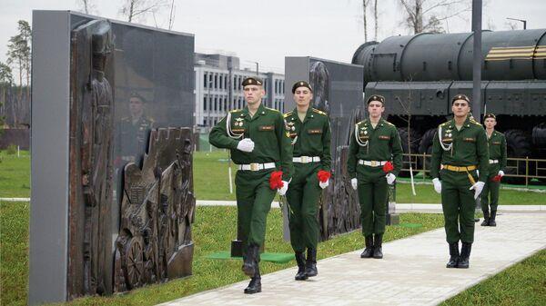 Аллея славы в Военной академии РВСН