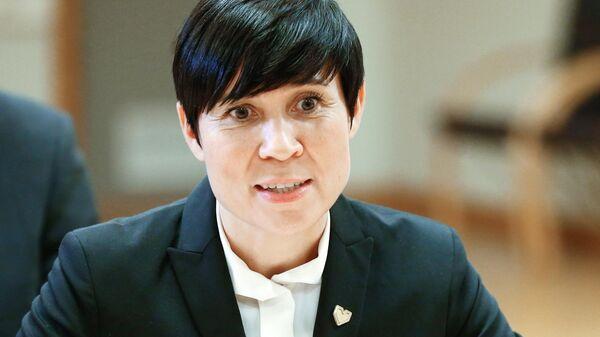 Министр иностранных дел Норвегии Ине Эриксен Сёрейде