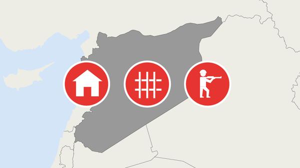 Гуманитарная ситуация на северо-востоке Сирии