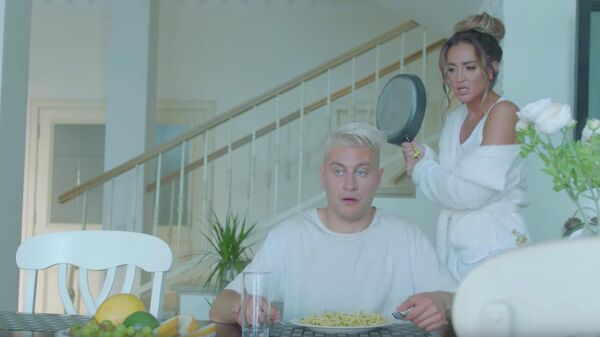 Кадр из клипа Ольги Бузовой - Лайкер