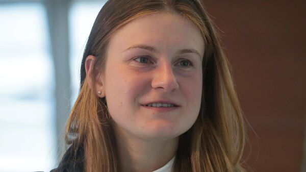 Мария Бутина, освобожденная из тюрьмы в США