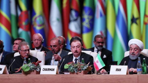Участники саммита Движения неприсоединения в Баку. 26 октября 2019