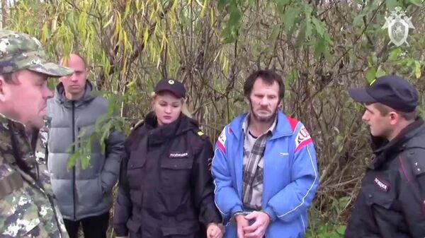 Следственные действия с подозреваемым в каннибализме жителем Архангельской области