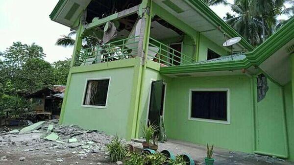 Последствия землетрясения на Филиппинах. 29 октября 2019