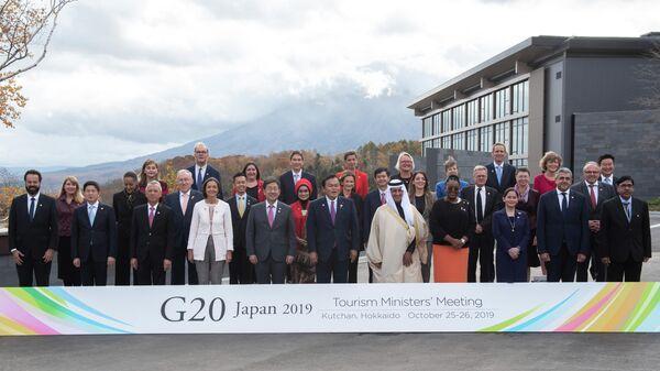 Встреча министров туризма G20. Хоккайдо, Япония.