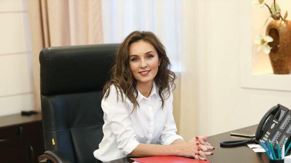Министр образования Подмосковья Ирина Каклюгина