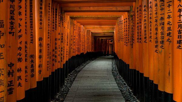 Храм Фусими Инари в Киото, Япония