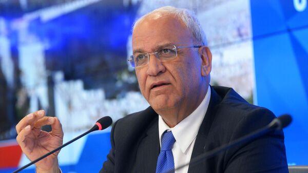 Генеральный секретарь исполкома Организации освобождения Палестины Саиб Орейкат