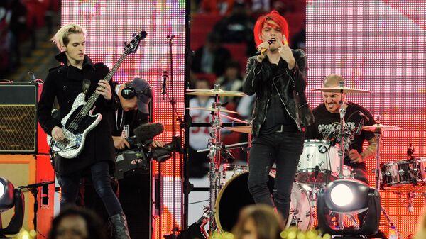 Американская группа My Chemical Romance