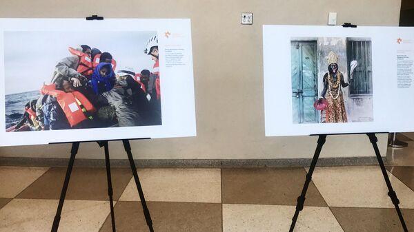 Выставка победителей Международного конкурса фотожурналистики имени Андрея Стенина в Нью-Йорке