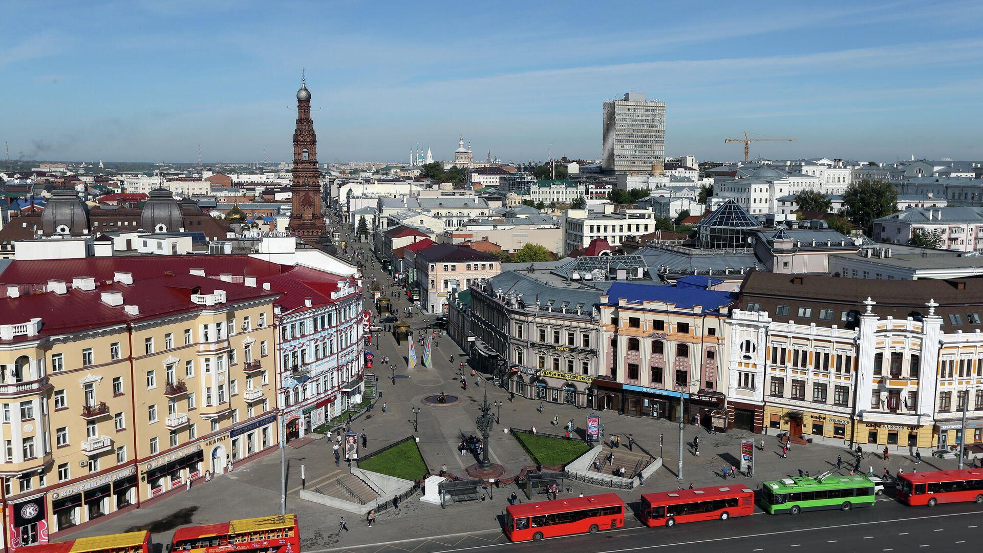 Вид на улицу Баумана в Казани - РИА Новости, 1920, 05.10.2020