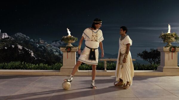 Кадр из фильма Астерикс на Олимпийских играх