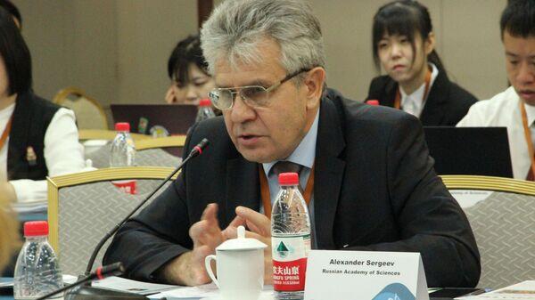 Президент Российской академии наук Александр Сергеев