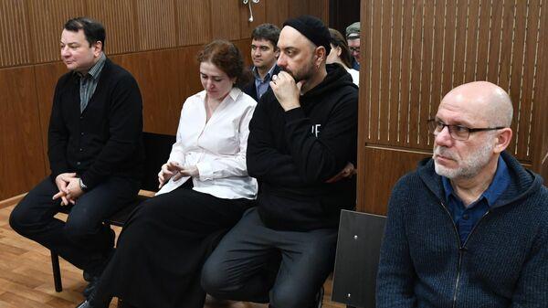 Заседание суда по делу Седьмой студии