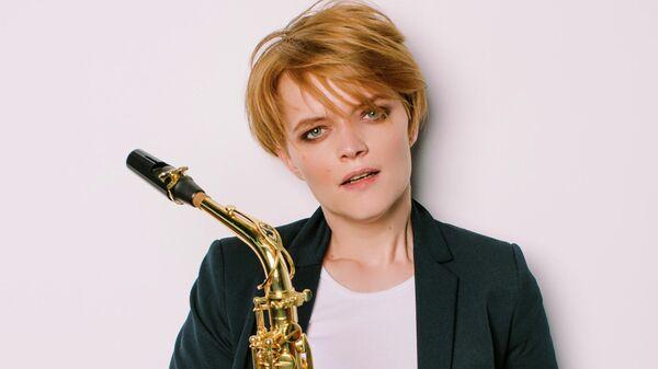 Саксофонистка Вероника Кожухарова