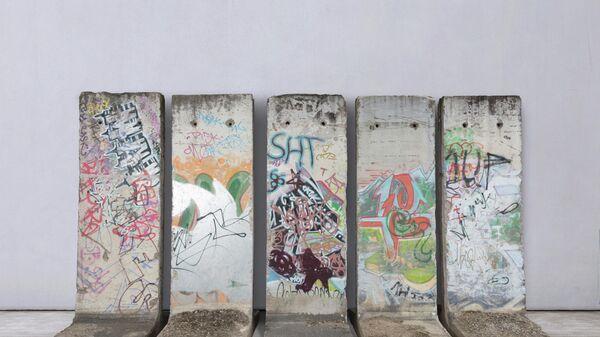 Фрагменты Берлинской стены, которые продадут на ярмарке искусства и антиквариата BRAFA Art Fair