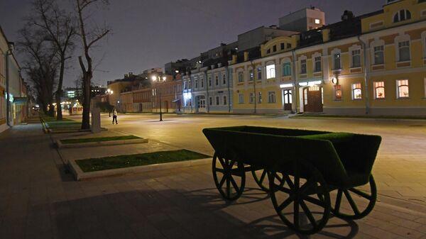 Ночная улица в Москве