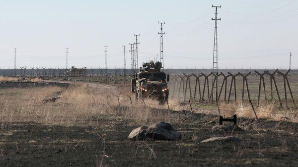 Третий совместный российско-турецкий патруль на северо-востоке Сирии