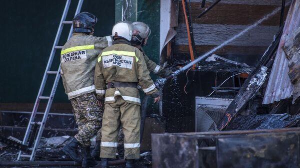 Три взрыва прогремели в кафе в Бишкеке