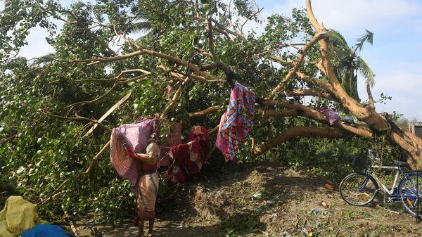 Последствия циклона Булбул