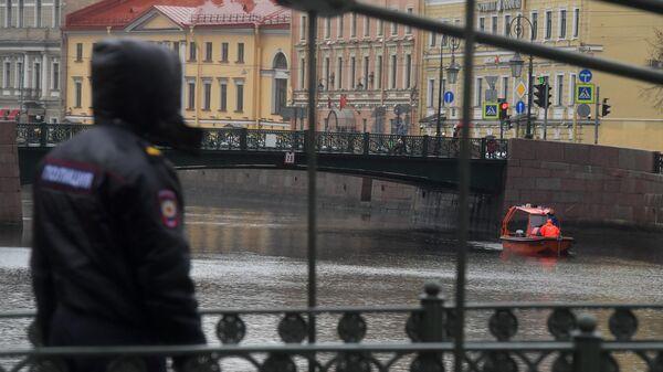 Следственные действиях на реке Мойке в Санкт-Петербурге. 10 ноября 2019