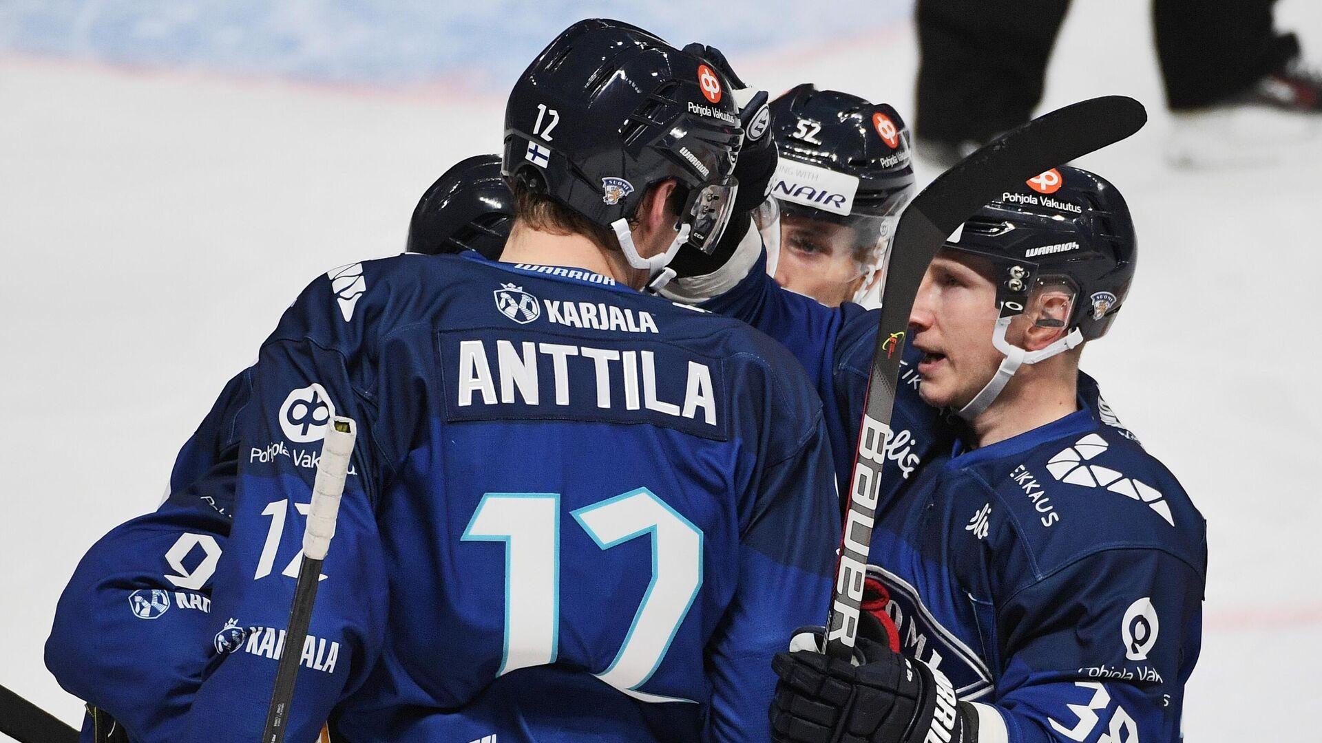 Хоккеисты сборной Финляндии - РИА Новости, 1920, 15.05.2021