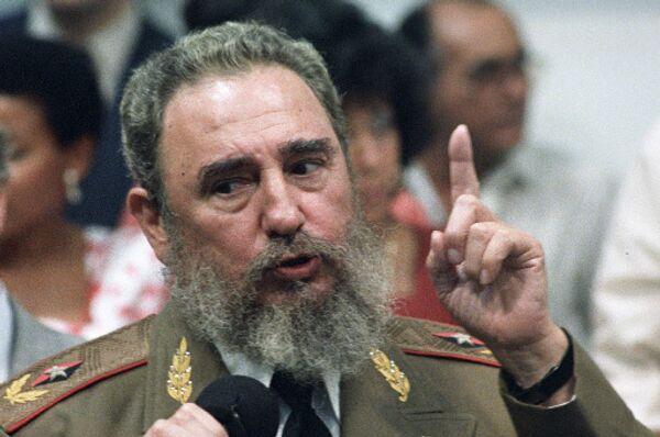 Кастро назвал лживым и демагогичным выступление Обамы в Копенгагене