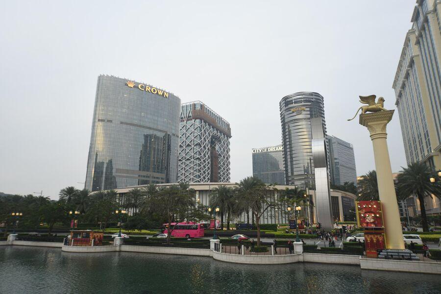 Отели и казино в Макао