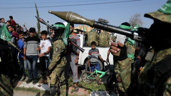 Военные ХАМАС в Секторе Газа