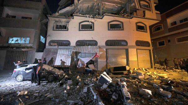 Новые обстрелы Израиля стерритории сектора Газа