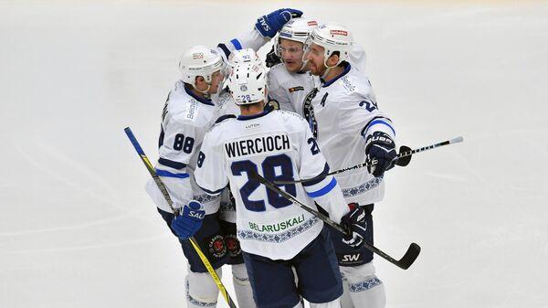 Хоккей. КХЛ. Матч Витязь - Динамо (Минск)